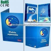 Wholesale Music Pre-Recorded Greeting Card With Custom Logo Printing from china suppliers