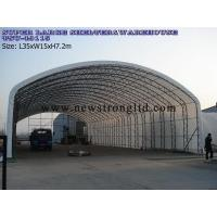 Industrial Storage Building, Agriculture Warehouse, Enhanced Arch spacing and purlin