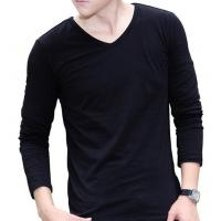 China Soft Bamboo Men's Black T-shirt MEN UNDERWEAR on sale