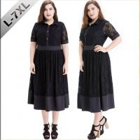 China Women's Plus Size Lace Dress Casual Formal on sale