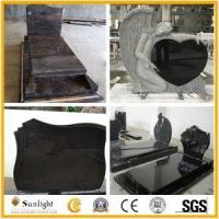 Culture Stone Granite Monument and Tombstone for American or European Mark