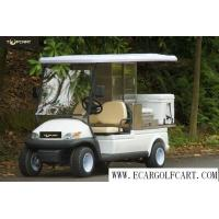 Wholesale White Color Golf Beverage Cart , Food And Beverage Golf Cart With 5 Horsepower Motor from china suppliers