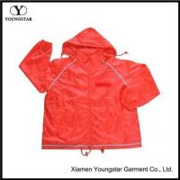 Wholesale Unisex Classic Blue Pullover Lightweight Windbreaker Jacket With Hood from china suppliers