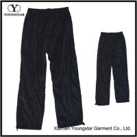 Wholesale Lined Mens Black Microfiber Sports Pants Sweatpants from china suppliers