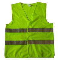 China Green Yellow Reflective Hi Vis EN471 Safety Harness Vest Workwear on sale