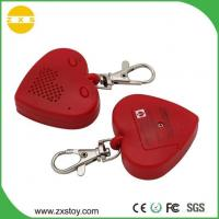 China ABS Mini Heart Shape Sound Voice Recordable Keychain Used Gift Dog Tracker on sale