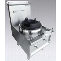 Wholesale Single hole stianless steel super wok from china suppliers