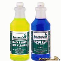 Wholesale Lanes Super Blue Tire Gloss Shine & Tire Cleaner Kit from china suppliers