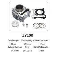 Wholesale Yamaha Motorcycle Cylinder Repair Kit ZY100 For Yamaha Jog 100 Scooter from china suppliers