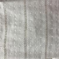 Buy cheap 100% Cotton Broderie Anglaise White Embroidered Eyelet Cotton Fabric from wholesalers