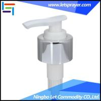 Wholesale Shampoo Lotion Pump Manufacturer, Aluminum Lotion Pump-Ningbo Let Commodity CO., LTD. LP-12 from china suppliers