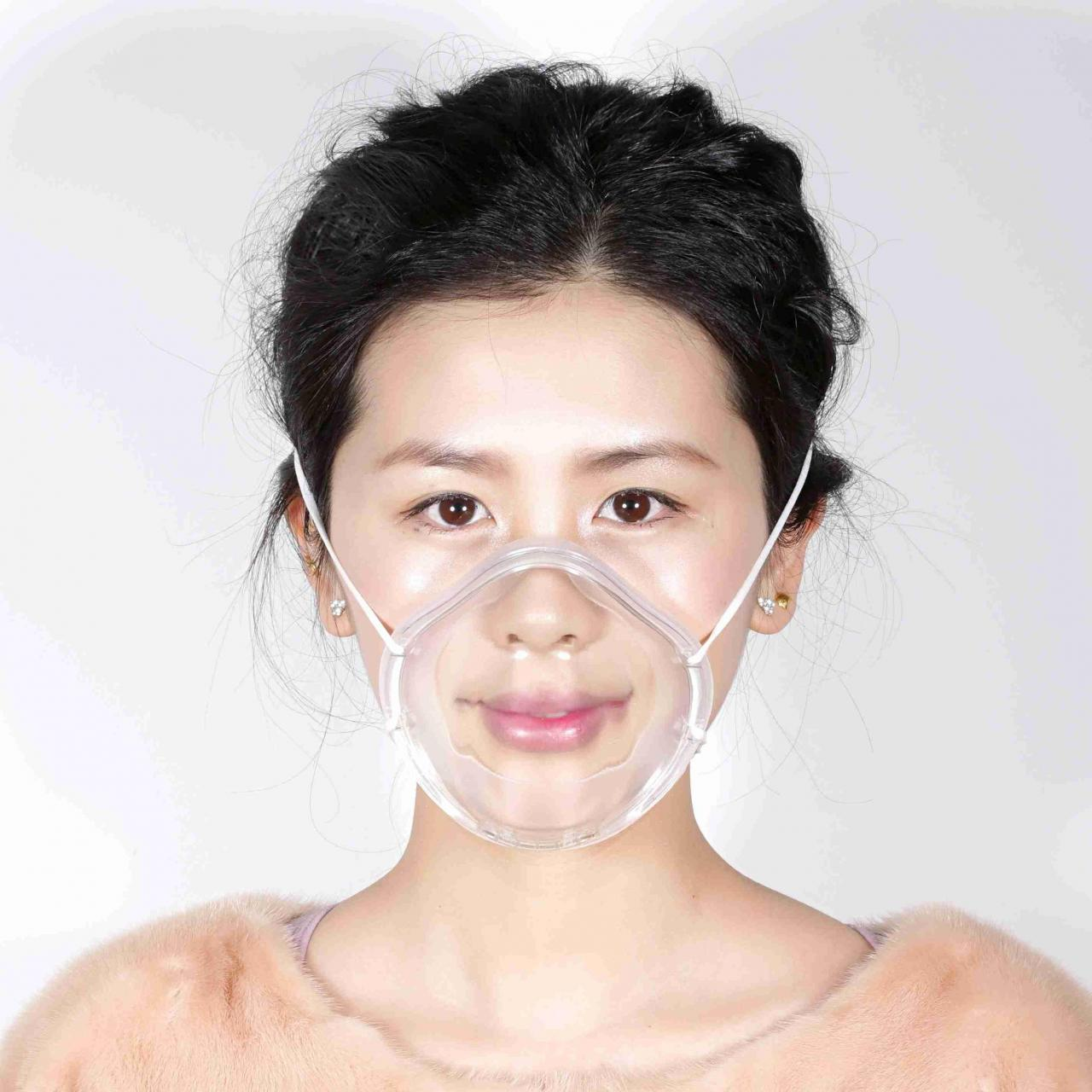 Wholesale Transparent mask Anti fog and anti odor anti dust PM2.5 permanent double anti fog from china suppliers