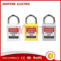 Buy cheap 25mm Short Steel Shackle Safety Padlock NT-25S from wholesalers