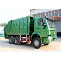 China HOWO 16m3 Compressor Garbage Truck on sale