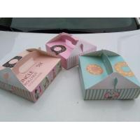 Wholesale Latest Personalized 300GSM Food Grade Donut Packaging Box from china suppliers