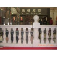 China Modern Stone Baluster Marble Handrail / Hand Railing For Indoor & Home on sale