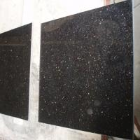 Wholesale Marble Discount Natural Black Galaxy Granite Stone Tile For Floor from china suppliers