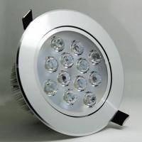 Wholesale 9W Indoor Round Flush Mount LED Ceilight Spotlight COB SMD from china suppliers