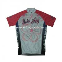 Wholesale Uniform Sublimation custom cycling jersey from china suppliers