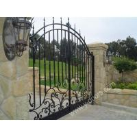 Wholesale Wrought Iron Hand Forged Steel Main Gate SY-GT-M812 from china suppliers