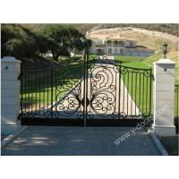 Wholesale Wrought Iron Hand Forged Steel Main Gate SY-GT-M805 from china suppliers