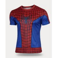 Wholesale Short Sleeve Quick-dry Spider Print Men Shirt TJEL0002 from china suppliers