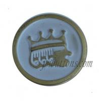 China Metal Buttons Crown Pattern Iron Jeans Buttons Cheapest on sale