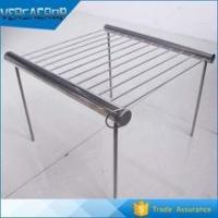 Wholesale Simple portable folding stainless steel charcoal bbq grill from china suppliers