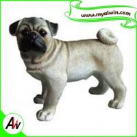 Wholesale Super submersible pump resin Pug Dog Statue/Sculpture for decoration from china suppliers