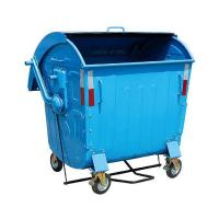 Wholesale Steel waste bin FA-WG1100P 1100Liters waste bin with pedal from china suppliers