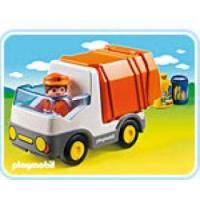 China Playmobil 1.2.3 #6774 - Garbage Truck on sale