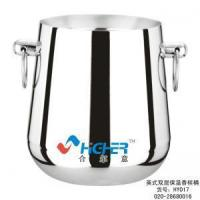 Wholesale Kitchenware Series Stainless Steel Double Wall Ice Bucket from china suppliers