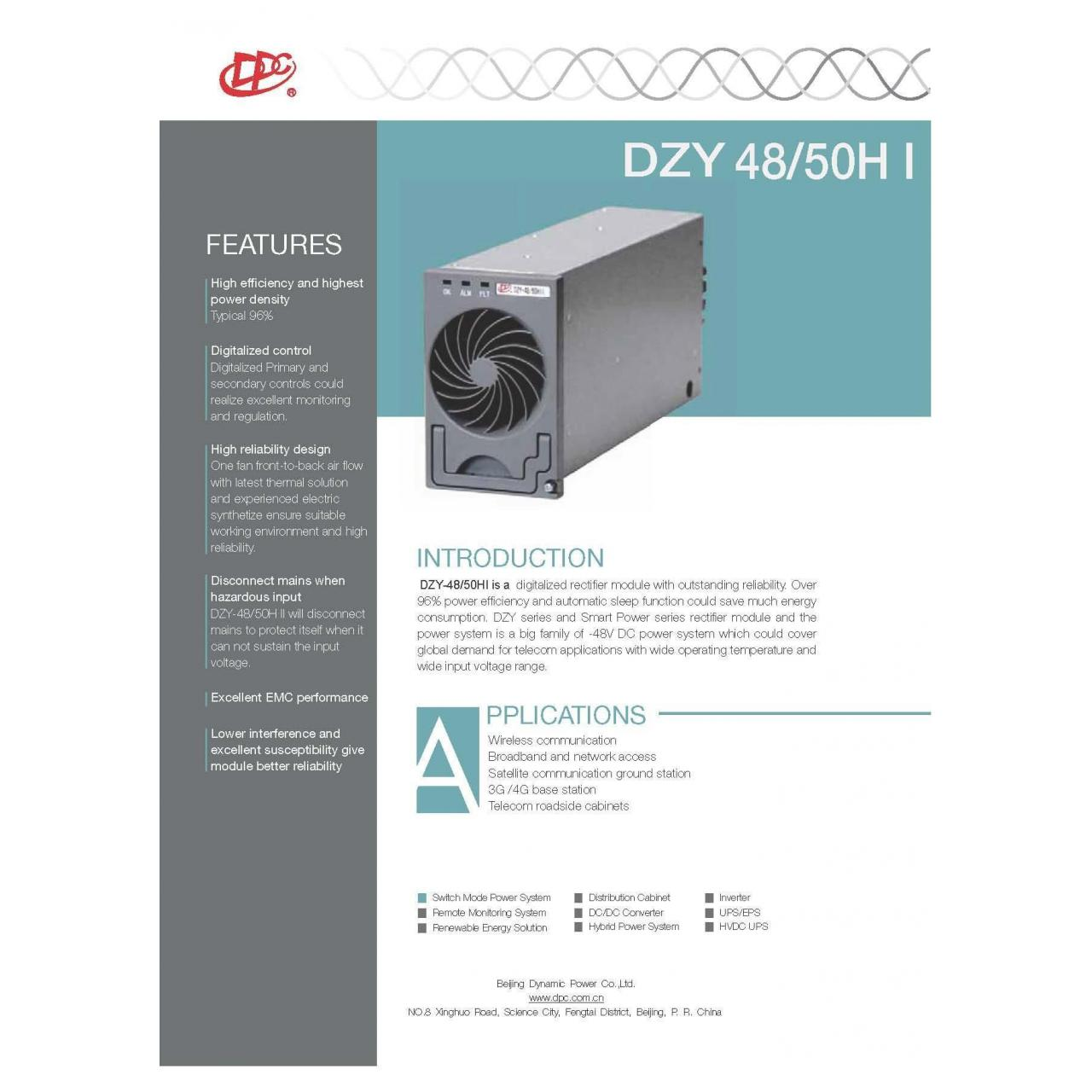 Wholesale Rectifier Module DZY-48/50HI from china suppliers