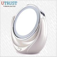 Wholesale Desktop double normal and 5x magnification makeup mirror with light from china suppliers