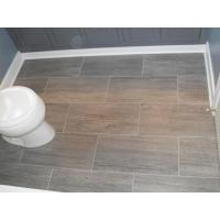 Wholesale Grey Tile Floor Bathroom from china suppliers