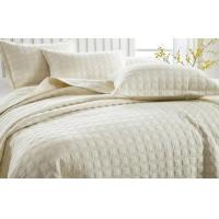 Wholesale solid embroidery microfiber/cotton quilts from china suppliers
