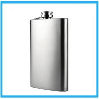 Wholesale Customized Stainless Steel 5oz flagon hip flask. from china suppliers