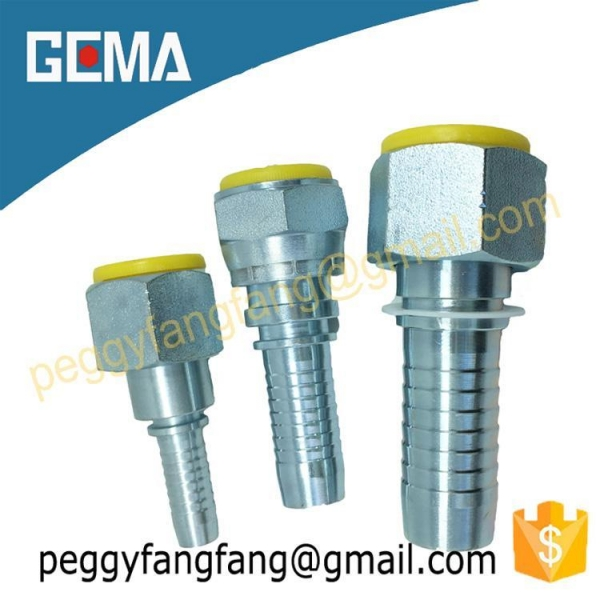 China Crimped Hydraulic Fittings