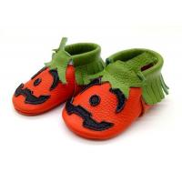 China wholesale urban good first baby shoes booties soft leather walker moccasins slippers on sale