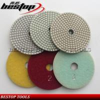3 Step Wet Diamond Abrasive Pad for Granite and Marble Stone