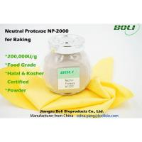 China 200000 U / g Neutral Protease For Baking , Food Grade Enzymes In Brewing Non - GMO on sale