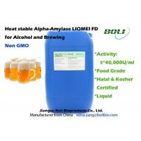 Wholesale High Temperature Alpha Amylase Enzymes , Non - GMO Enzymes In Brewing Industry from china suppliers