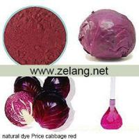 Wholesale Natural Dyes Price Cabbage Red Sale from china suppliers