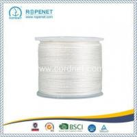 China Strong Nylon Solid Braid Rope With White Color on sale