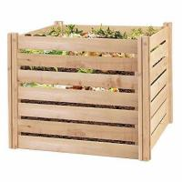 Wholesale Greenes Fence RCCOMP36 Cedar Wood Composter, 23.25 Cu ft / 173.92 gallons from china suppliers