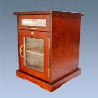 Wholesale Glass Top Wooden Cigar Bar Aging Cabinet Humidor Humidifier For Sale from china suppliers