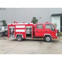 Wholesale Isuzu 100P 2.5t Water 1t Foam Fire Fighting Truck from china suppliers