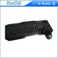 2.4G Black Wireless Mouse And Keyboard Set For Computer And Pc