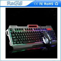 Mechanical Touch Keyboard Mouse Set USB Backlit Desktop Computer Game Internet Cafe Keyboard