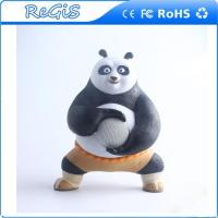 Wholesale Kung Fu Panda Cute Creative LED Colour Changing Wireless Bluetooth V4.0 USB Speaker from china suppliers